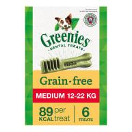 Greenies Grain Free Dental Dog Treats 170g Regular
