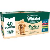 Winalot Perfect Portions Multipack in Jelly Wet Adult Dog Food 100g x 40