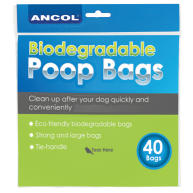 Ancol Biodegradable Poop Bags