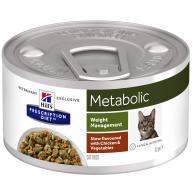 Hills Prescription Diet Metabolic Chicken & Veg Stew Wet Cat Food