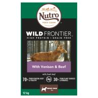 Nutro Wild Frontier Venison & Beef Dry Medium Adult Dog Food
