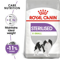 Royal Canin X-Small Sterilised Care Dry Adult Dog Food