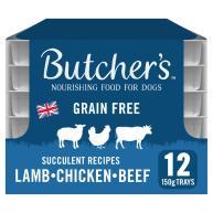 Butchers Succulent Recipes Dog Food Trays