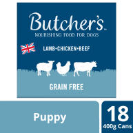 Butchers Puppy Perfect Dog Food Tins 400g x 18