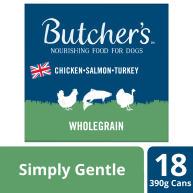 Butchers Simply Gentle Dog Food Tins 390g x 18