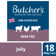 Butchers Recipes in Jelly Dog Food Tins 400g x 18
