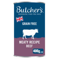 Butchers Beef & Liver in Jelly Dog Food Tins