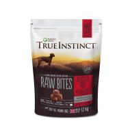 True Instinct Raw Bites Selected Beef Raw Frozen Adult Dog Food