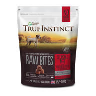 True Instinct Raw Bites Selected Beef Small Breed Raw Frozen Dog Food