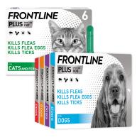 Frontline Plus Buy One Get One Half Price Flea & Tick Spot On