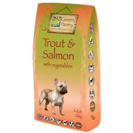 Greendog Trout Salmon & Veg Dry Adult Dog Food 12kg