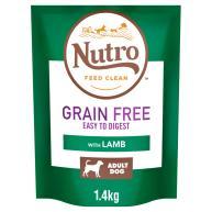 Nutro Grain Free Medium Adult Lamb Dry Dog Food