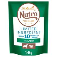 Nutro Limited Ingredient Lamb Medium Adult Dry Dog Food 1.4kg - Try Me for Free*