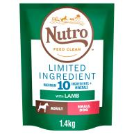 Nutro Limited Ingredient Lamb Small Adult Dry Dog Food