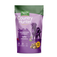 Natures Menu Country Hunter Superfood Crunch Turkey Adult Dry Dog Food
