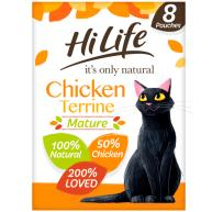 HiLife Its Only Natural Chicken Terrine Wet Senior Cat Food