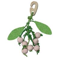 Happy Pet Christmas Mistletoe Nibbler for Small Pets