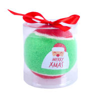Rosewood Merry Christmas Tennis Ball Decoration Dog Toy