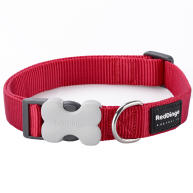Red Dingo Dog Collar Classic Red