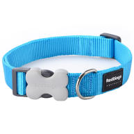 Red Dingo Classic Blue Dog Collar Medium