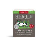 Forthglade Gourmet Christmas Turkey & Goose with Pumpkin & Cranberries Wet Dog Food Trays
