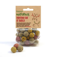 Rosewood Christmas Bag of Baubles Gnaw Toy 100g