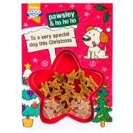 Good Boy Dog Meaty Treats Christmas Card