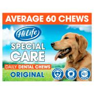 HiLife Special Care Daily Dental Original Dog Chews 60 Chews SAVER PACK