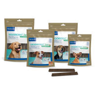 Virbac VeggieDent Zen Dental & Calming Dog Chews Extra Small