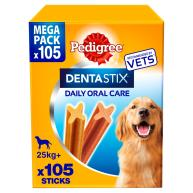 Pedigree Dentastix Large Adult Dog Treats 112 Stick SAVER PACK