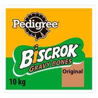 Pedigree Biscrok Gravy Bones Biscuit Adult Dog Treat 10kg