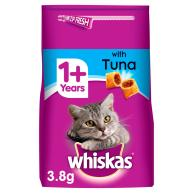 Whiskas Dry 1+ Tuna Adult Dry Cat Food 3.8kg