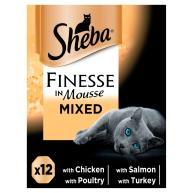 Sheba Finesse Mixed Collection Cat Trays 85g x 12