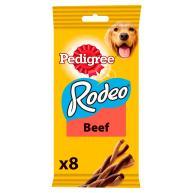 Pedigree Rodeo Beef Chew Adult Dog Treats