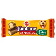 Pedigree Christmas Jumbone Dog Treats with Turkey Flavour