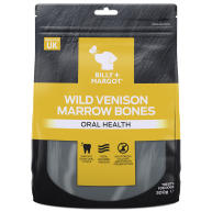 Billy & Margot Wild Venison Marrow Bones Dog Treats 300g