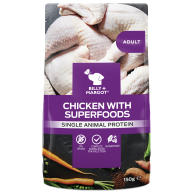 Billy & Margot Chicken and Superfood Wet Dog Food Pouches