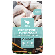 Billy & Margot Puppy Chicken & Superfood Wet Dog Food Pouches