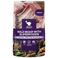 Billy & Margot Wild Boar & Superfood Wet Dog Food Pouches