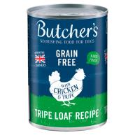 Butchers Tripe & Chicken Dog Food Tins 400g x 12