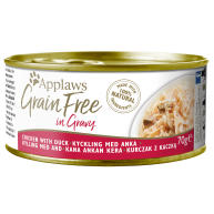 Applaws Chicken with Duck in Gravy Grain Free Wet Adult Cat Food
