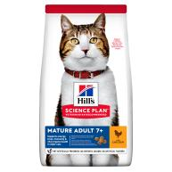 Hills Science Plan Chicken Mature Adult 7+ Dry Cat Food