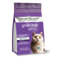 Arden Grange Light Chicken & Potato Adult Cat Food 2kg