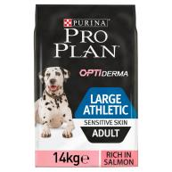 PRO PLAN OPTIDERMA Salmon Sensitive Skin Large Breed Athletic Adult Dog Food