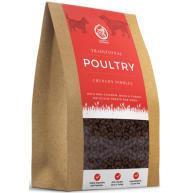 Clydach Farm Grain Free Nibbles Dog Treats 500g Traditional Poultry