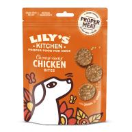 Lilys Kitchen Chomp-away Chicken Bites Dog Treats 70g