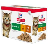 Hills Science Plan Wet Kitten Food Pouches 85g x 84 - Poultry Selection