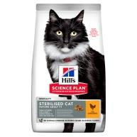 Hills Science Plan Mature Adult 7+ Sterilised Chicken Cat Food