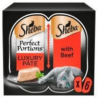 Sheba Perfect Portions Beef in Pate Wet Adult Cat Food