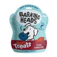 Barking Heads Meaty Treats Fish Fancies Adult Dog Treats 100g